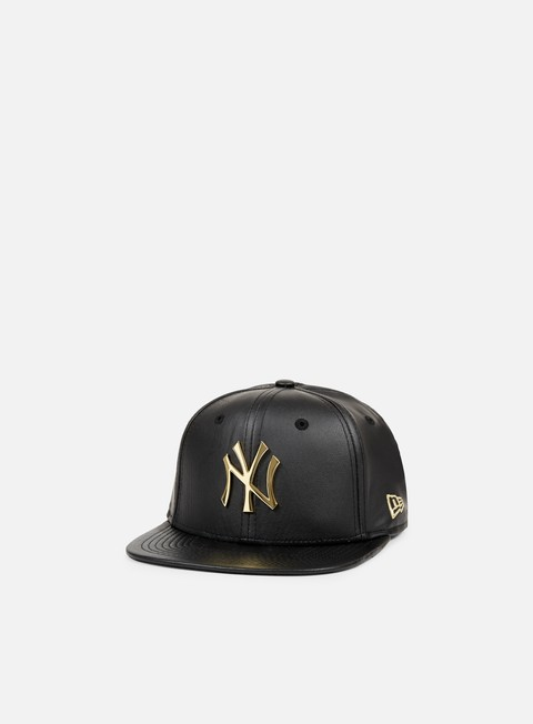 cappellini new era metal prime snapback ny yankees black gold