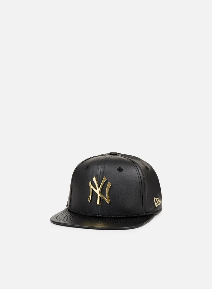 New Era - Metal Prime Snapback NY Yankees, Black/Gold