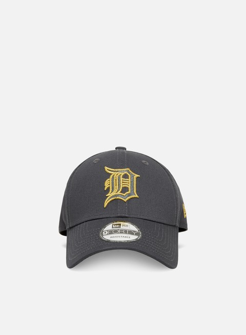 New Era Metallic Logo 9Forty Strapback Detroit Tigers