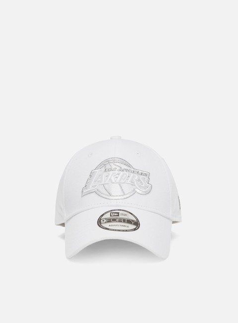 New Era Metallic Logo 9Forty Strapback LA Lakers