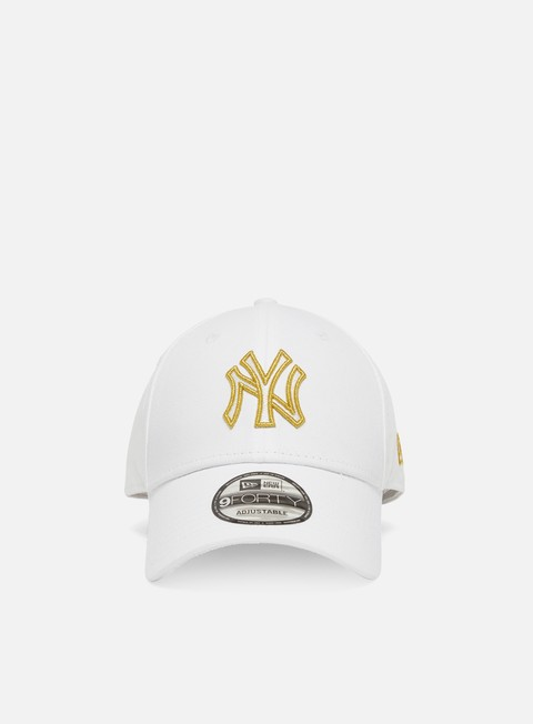 New Era Metallic Logo 9Forty Strapback NY Yankees