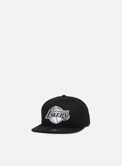 New Era - Metallic Logo Snapback Los Angeles Lakers, Black 1