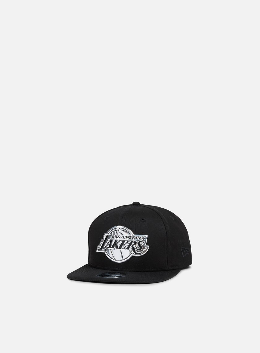 New Era - Metallic Logo Snapback Los Angeles Lakers, Black