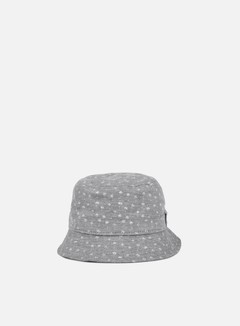 New Era - Micro Palm Bucket Hat, Navy/White