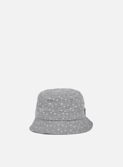 cappellini new era micro palm bucket hat navy white