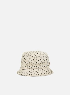 New Era - Micro Palm Bucket Hat, Stone/Black 1