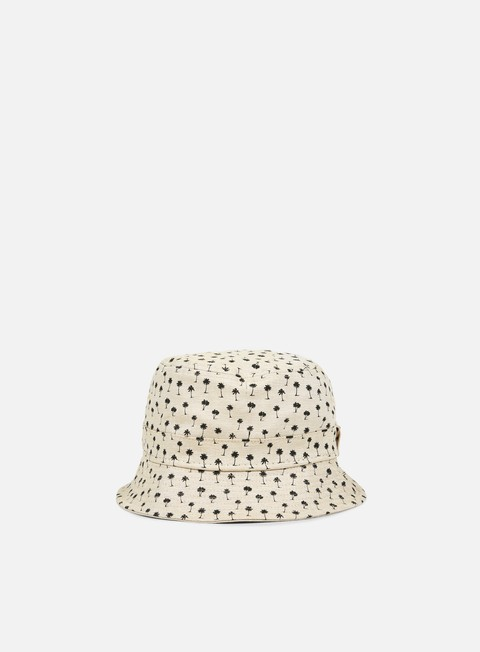 cappellini new era micro palm bucket hat stone black