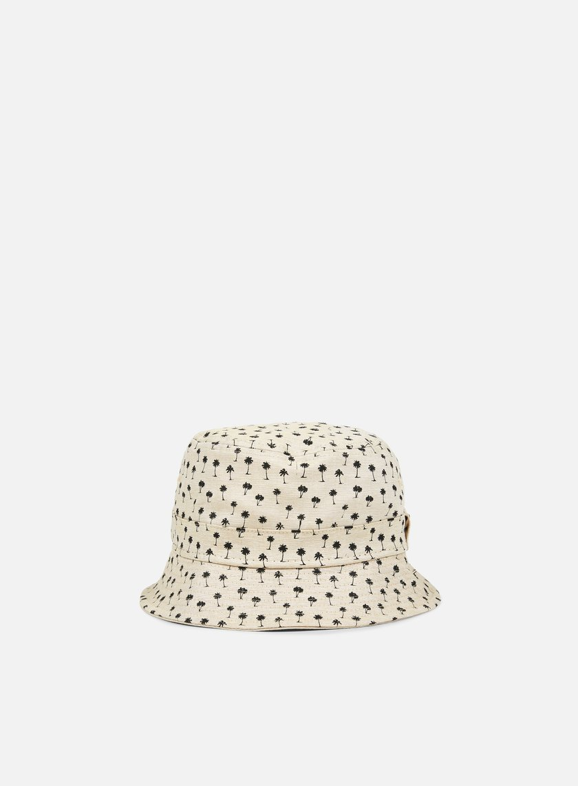 New Era - Micro Palm Bucket Hat, Stone/Black