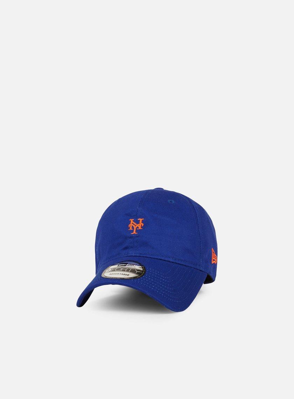 New Era - Mini Logo 9Forty Strapback NY Mets, Team Colors