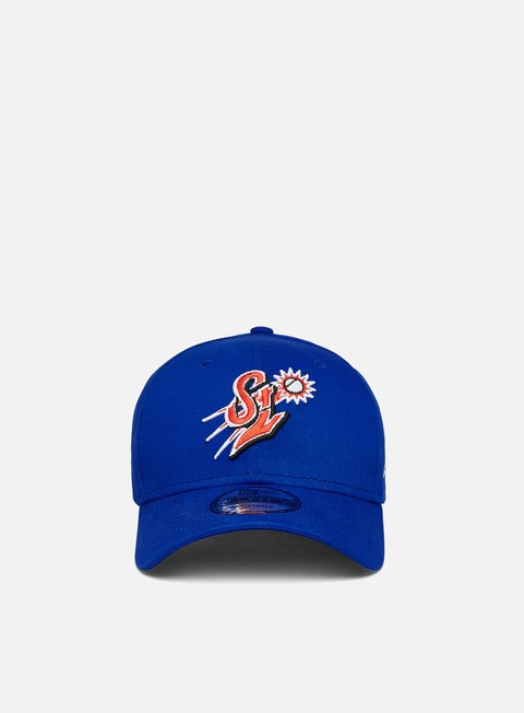 Curved Brim Caps New Era Minor League Patch 9Forty Strapback St. Lucie Mets