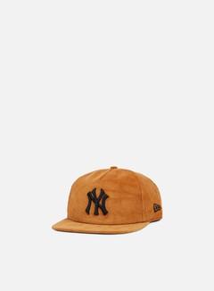 New Era - MLB Coop Cord Snapback NY Yankees, Wheat 1