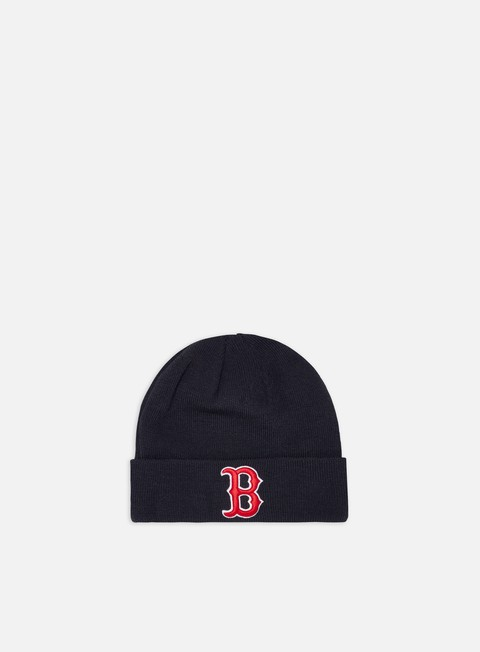 Outlet e Saldi Cuffie New Era MLB Essential Cuff Knit Beanie Boston Red Sox