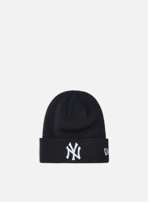 Outlet e Saldi Cuffie New Era MLB Essential Cuff Knit Beanie NY Yankees