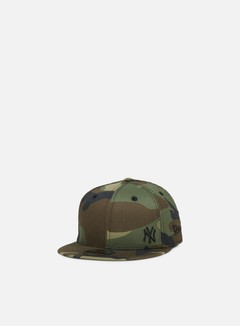 New Era - MLB Flawless Snapback NY Yankees, Wodland Camo/Black