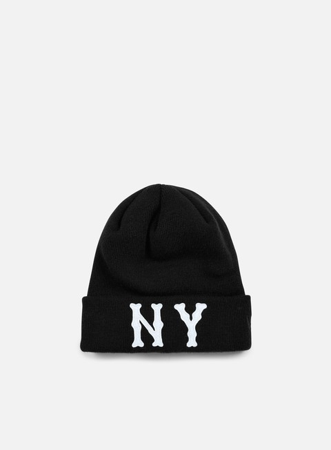 Outlet e Saldi Cuffie New Era MLB Japan Felt Cuff Beanie NY Yankees