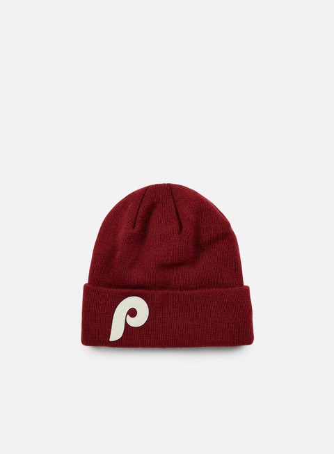 cappellini new era mlb japan felt cuff beanie philadelphia phillies team colors
