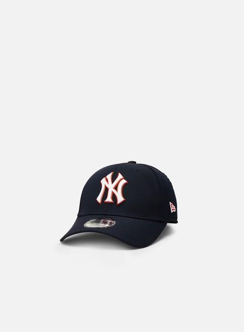 Outlet e Saldi Cappellini Visiera Curva New Era MLB Korean 9Forty Strapback NY Yankees