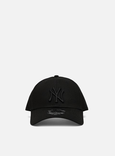 Curved Brim Caps New Era MLB League Essential 9Forty Strapback NY Yankees