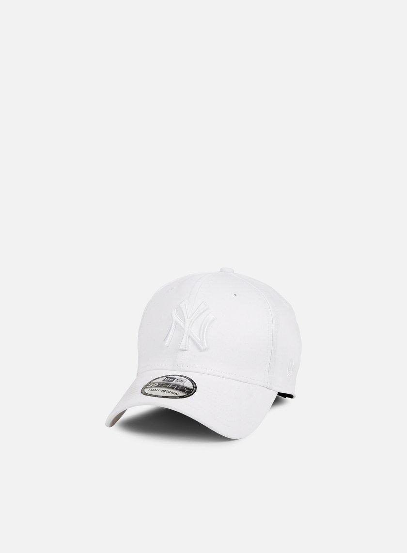New Era - MLB League Essential NY Yankees, White/White