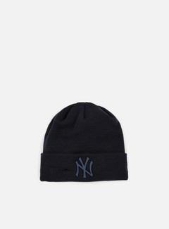 New Era - MLB Metal Badge Cuff NY Yankees Beanie, Navy
