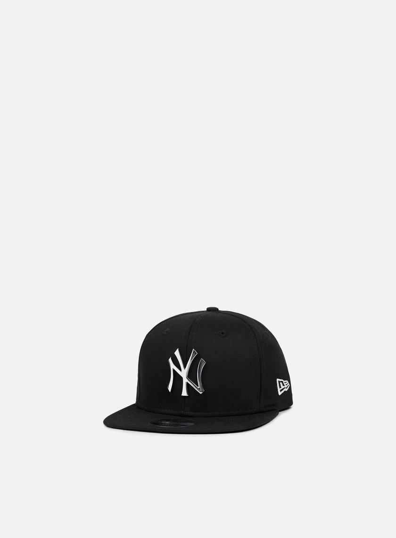 New Era MLB Metal Badge Snapback NY Yankees