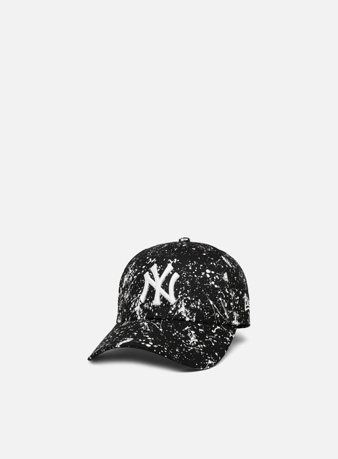 Cappellini Visiera Curva New Era MLB Paint Pack 9Forty Strapback NY Yankees