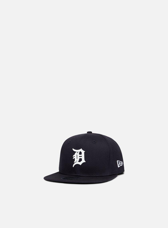 New Era - MLB Rubber Badge Snapback Detroit Tigers, Navy/White