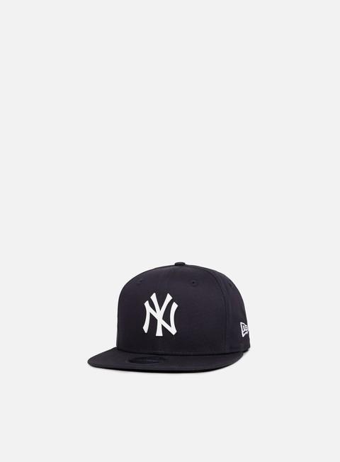 Outlet e Saldi Cappellini Snapback New Era MLB Rubber Badge Snapback NY Yankees