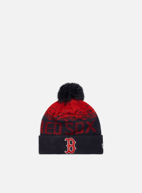 New Era MLB Sport Knit Beanie Boston Red Sox