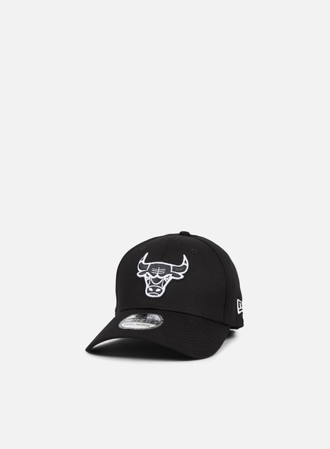 New Era Monochrome 39Thirty Chicago Bulls