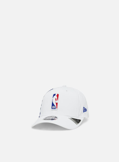 Curved Brim Caps New Era NBA 9Fifty SS NBA Logo Snapback