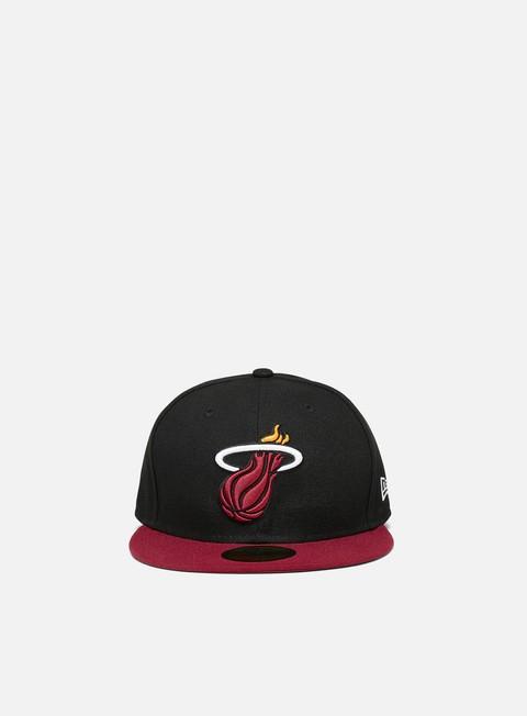 New Era NBA Basic 59Fifty Cap Miami Heat
