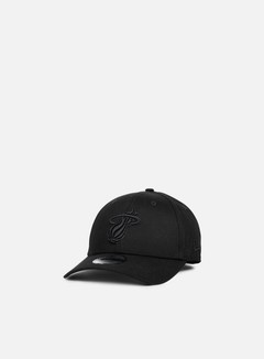 New Era - NBA BOB 9Forty Miami Heat, Black/Black 1