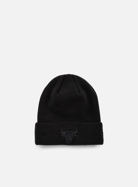 cappellini new era nba bob knit beanie chicago bulls black black