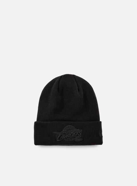 cappellini new era nba bob knit beanie cleveland cavaliers black black