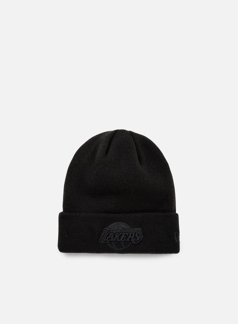 cappellini new era nba bob knit beanie la lakers black black