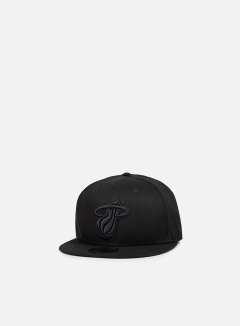 cappellini new era nba bob snapback miami heat black black