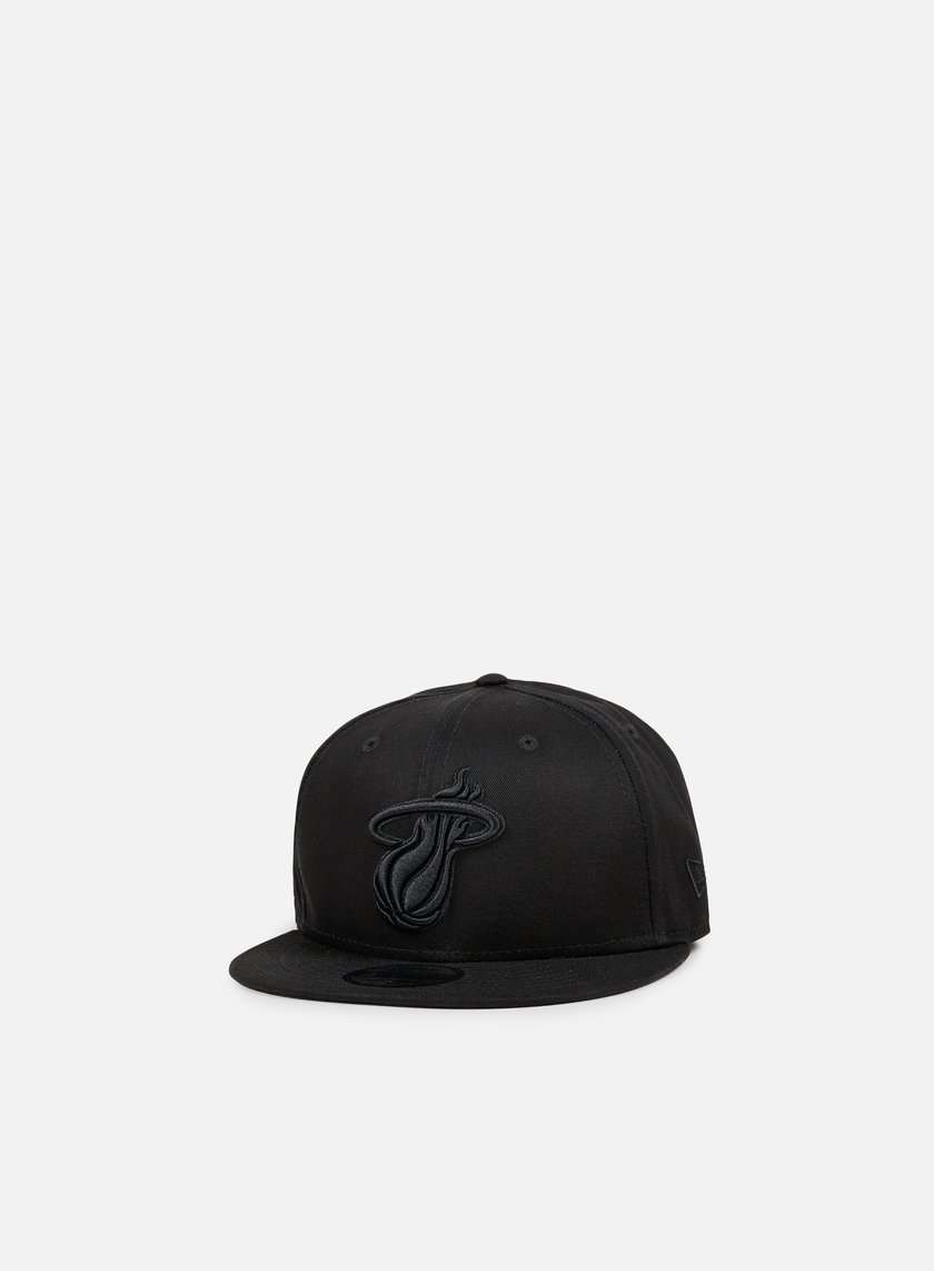 New Era - NBA BOB Snapback Miami Heat, Black/Black