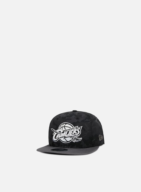 cappellini new era nba camo 9fifty snapback cleveland cavaliers black camo grey