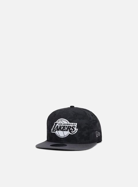 Outlet e Saldi Cappellini Snapback New Era NBA Camo 9Fifty Snapback Los Angeles Lakers