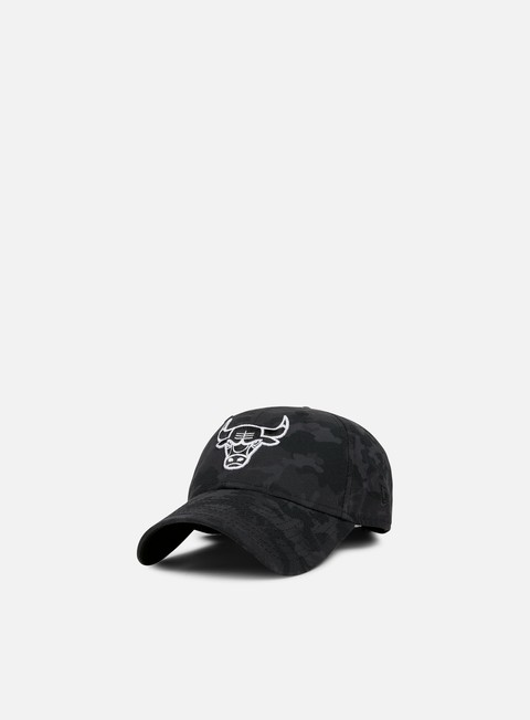 cappellini new era nba camo 9forty strapback chicago bulls black camo