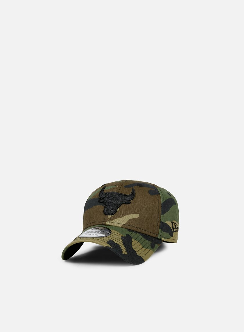New Era - NBA Camo 9forty Strapback Chicago Bulls, Woodland Camo