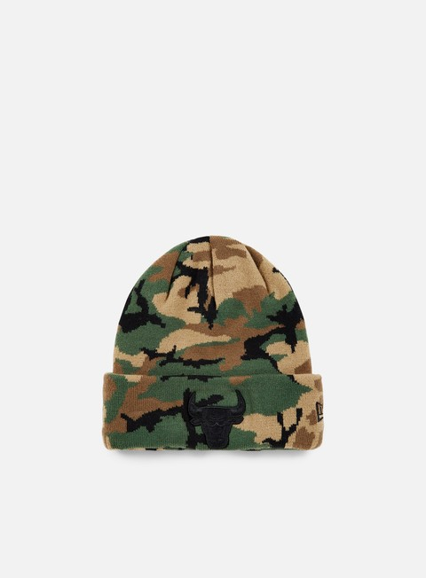 cappellini new era nba camo knit beanie chicago bulls woodland camo