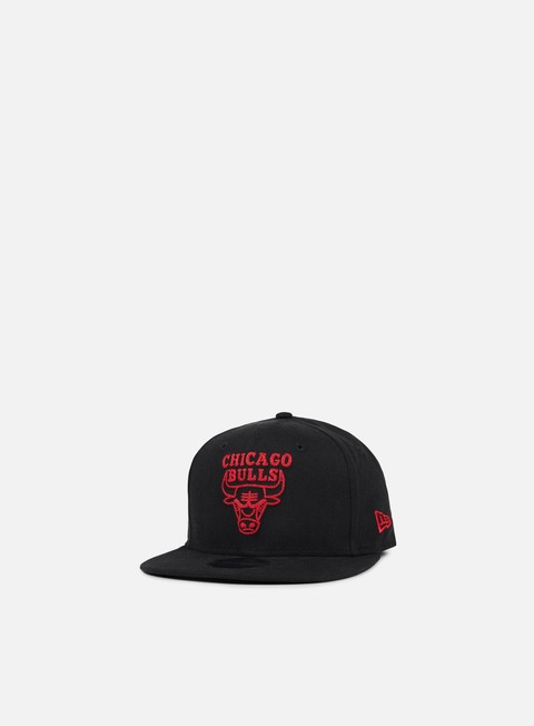 cappellini new era nba chainstitch snapback chicago bulls black