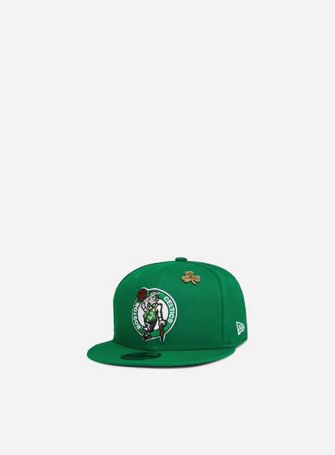 cappellini new era nba draft 9fifty snapback boston celtics team colors