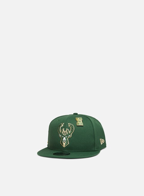 New Era NBA Draft 9Fifty Snapback Milwakee Bucks