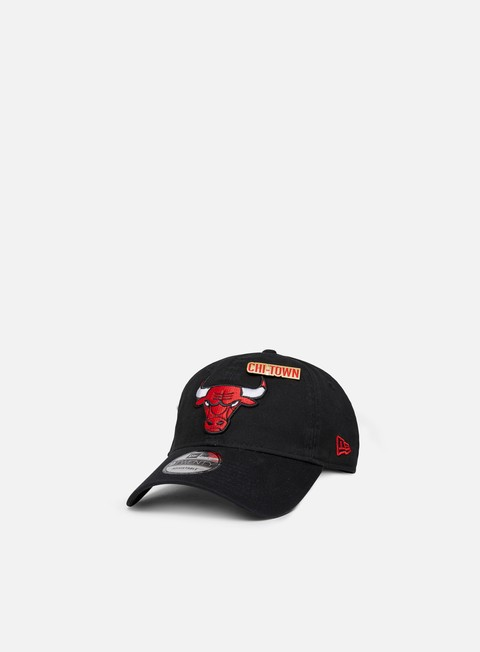 cappellini new era nba draft 9twenty strapback chicago bulls team colors