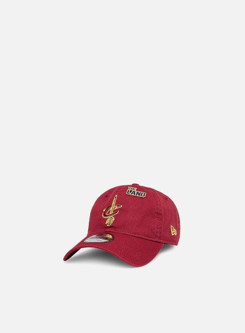 cappellini new era nba draft 9twenty strapback cleveland cavaliers team colors