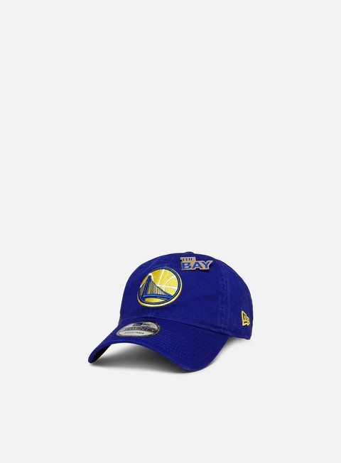 Outlet e Saldi Cappellini Visiera Curva New Era NBA Draft 9Twenty Strapback Golden State Warriors