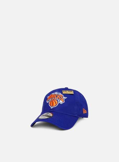 Outlet e Saldi Cappellini Visiera Curva New Era NBA Draft 9Twenty Strapback New York Kniks